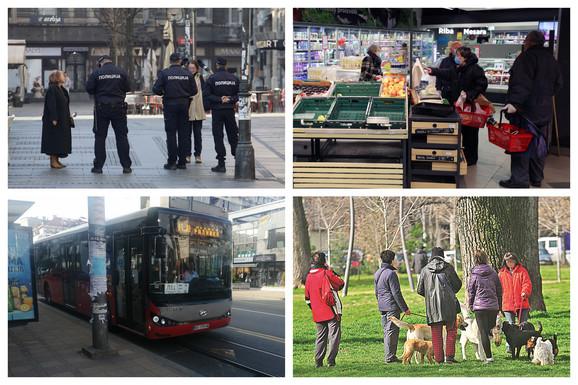 10 stvari o Beogradu u toku vanrednog stanja