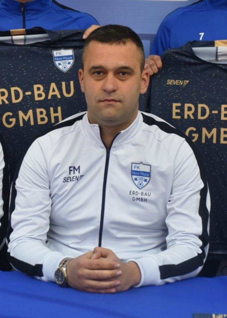 NOVIPAZAR Fikret Medjedovic foto FK Novi Pazar