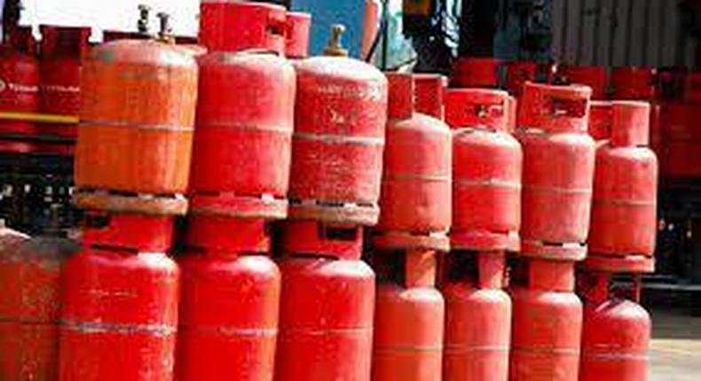 Cooking gas cylinders (Vanguard)