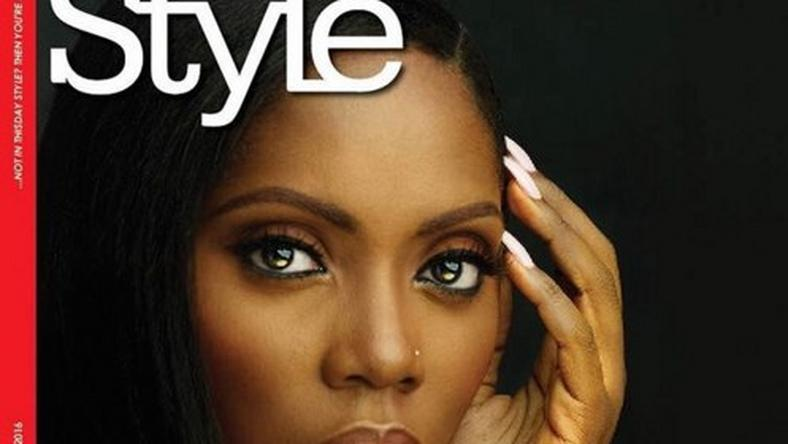 Tiwa Savage on the cover of Thisday Style