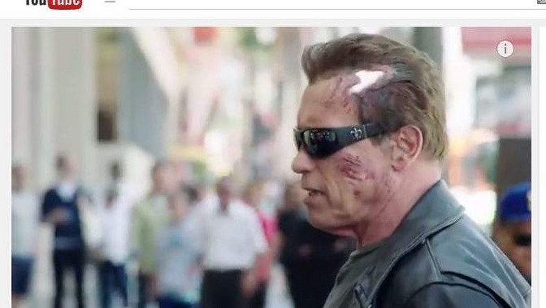 Arnold Schwarzenegger jako Terminator