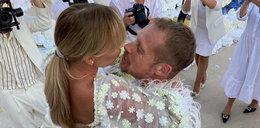 Synowie Przetakiewicz wzruszyli mamę do łez podczas jej ślubu z Rooyensem. Co takiego zrobili? WIDEO