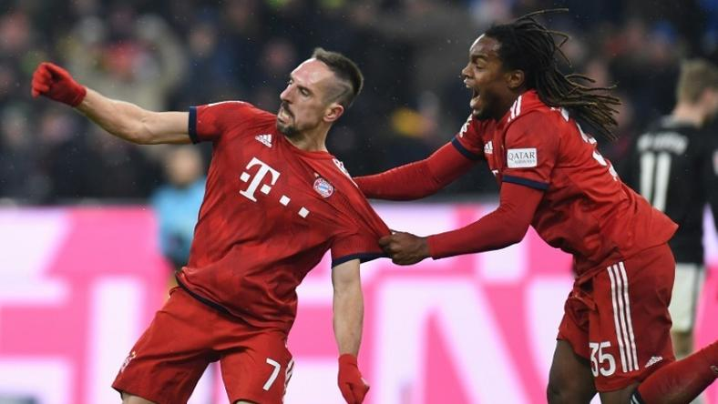 Ribery's double fired Bayern to victory at Eintracht Frankfurt
