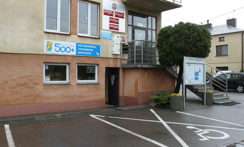 Gminny Ośrodek Pomocy Społecznej w Krasnem