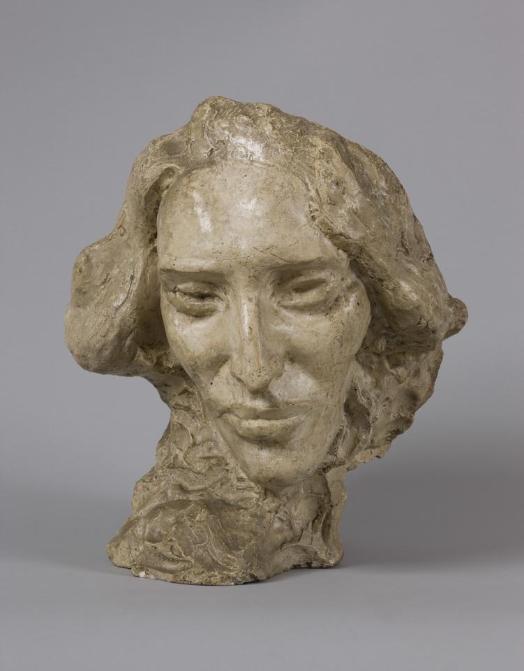 Xawery Dunikowski, Portret Fryderyka Chopina ok. 1900, gips, fot. MNK