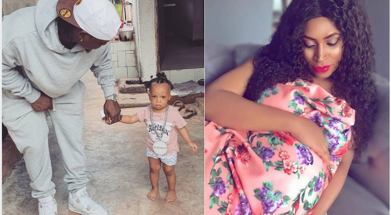 Harmonize introduces first born daughter, after a year of denying siring a baby out of wedlock (Photos)