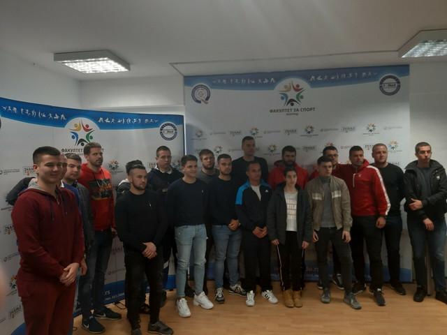 """Saša Pavlović na Fakultetu za sport Union """"Nikola Tesla"""""""