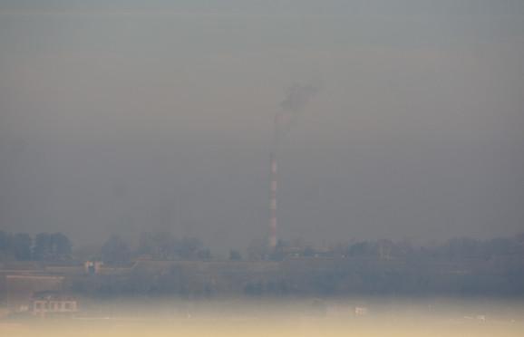 Tu je negde i grad... Pogeld na zagađen Novi Sad