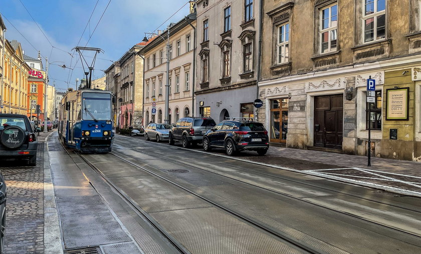 Ulica Krakowska jest po remoncie.