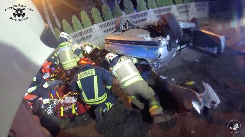 Tragiczny finał pościgu, nie żyją dwie osoby