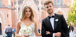 Joanna Opozda przebrała się po ślubie. W drugiej sukni wyglądała jeszcze lepiej niż w pierwszej