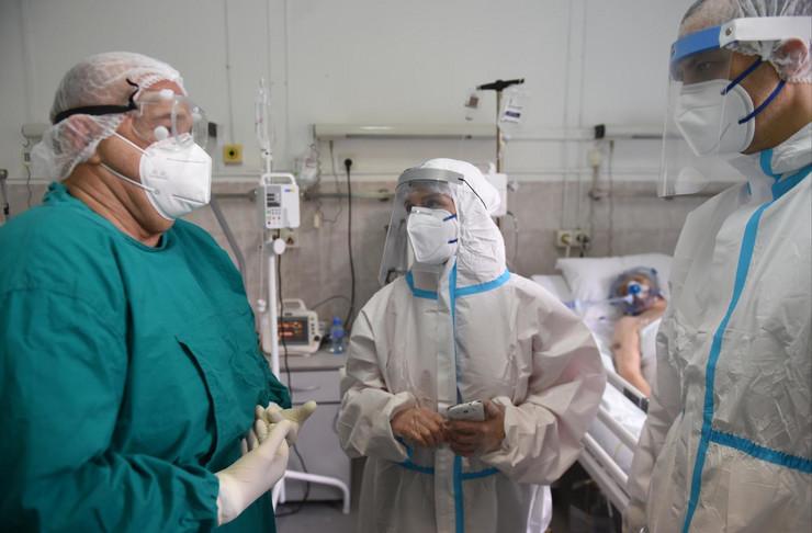 kovid bolnica kbc dragiša mišović