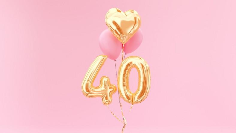 40 urodziny. Balony