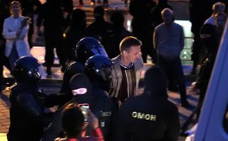 OMON rozpędził demonstrację w centrum Mińska. Co najmniej sześć osób zatrzymanych