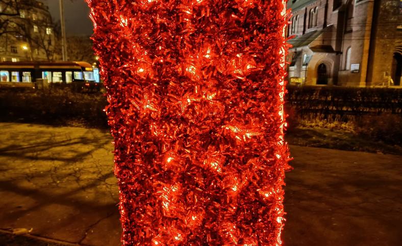 Zdjęcie nocne wykonane telefonem realme 7 5G