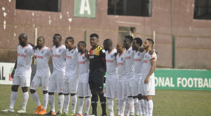 Akwa United extend unbeaten run to 4 games against Abia Warriors in NPFL matchday 5 results