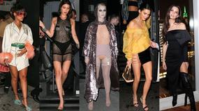 Bella Hadid bez stanika, Katy Perry w dziwnej kreacji i półnagie celebrytki na afterparty po Gali MET