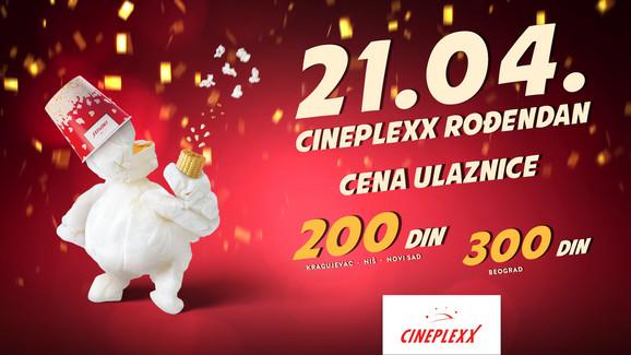 Cineplexx rođendan
