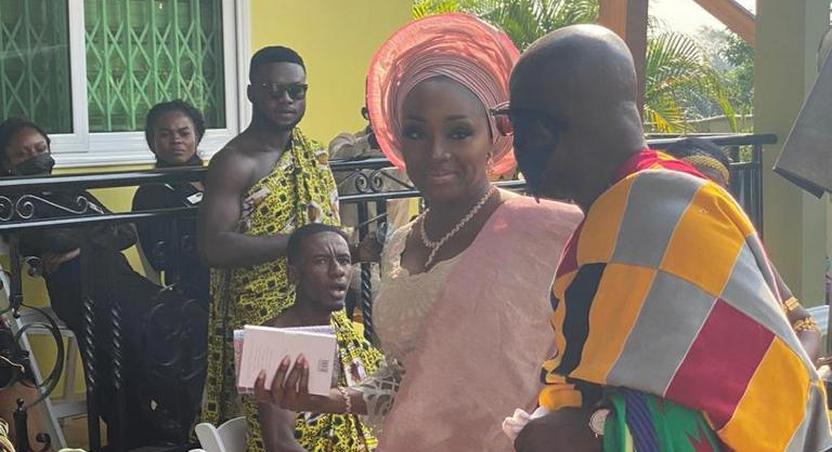 Nana Bediatuo Asante and wife