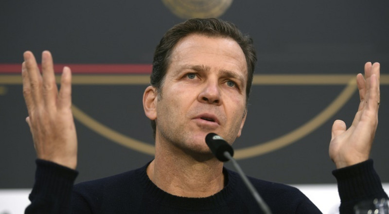 "Bierhoff hopes ""power football"" by Germany can boost home crowds"