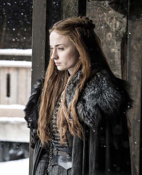 Igra Prestola, Sansa Stark koju glumi Sofi Tarner