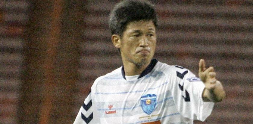 Ma 53 lata i właśnie pobił rekord. Kazuyoshi Miura wciąż profesjonalnie gra w piłkę