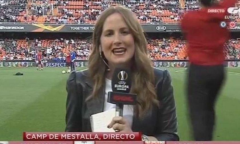 Dziennikarka Monica Benavent