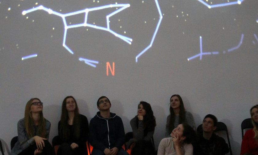 Planetarium w siedleckim liceum