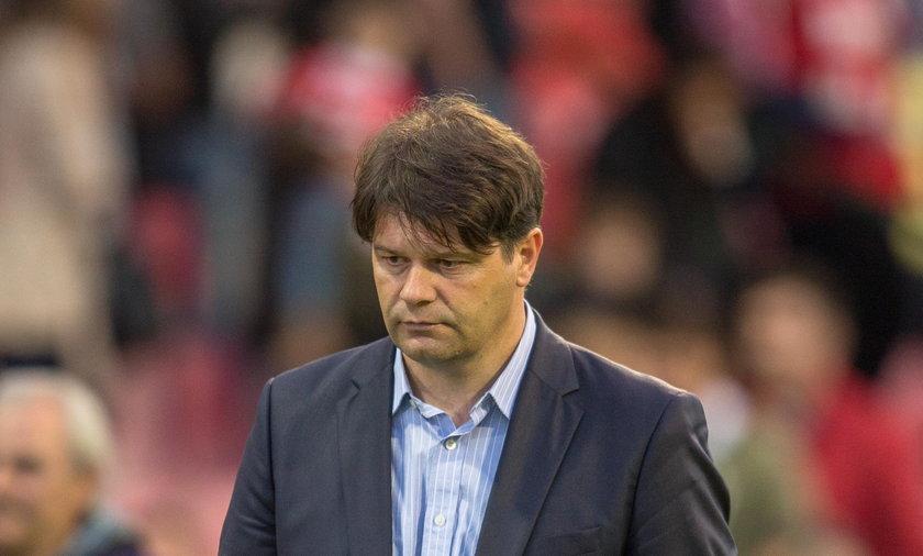 Trener Radosław Mroczkowski