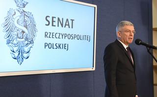 Karczewski: Protest był próbą nieuchwalenia budżetu
