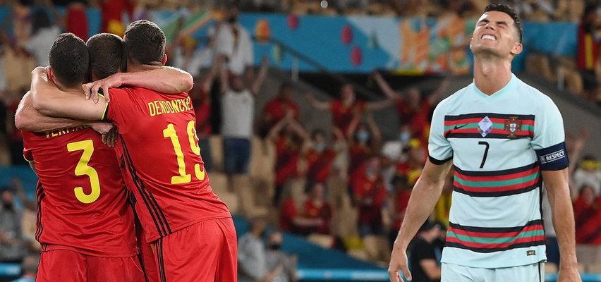 Skandaliczne zachowanie Ronaldo po przegranej z Belgią. Puściły mu nerwy