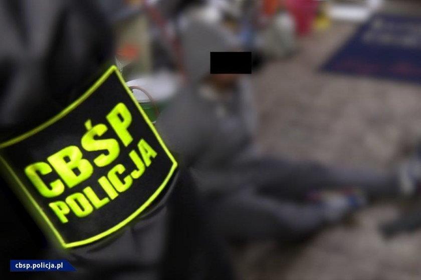 Uderzenie policji na Śląsku