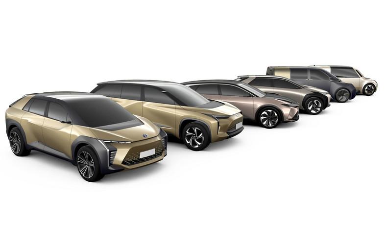 Toyota deklaruje wprowadzenie w najbliższym czasie aż 10 samochodów elektrycznych, w tym 6 modeli globalnych