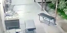 Przerażająca scena w szpitalu. Uchwycili ducha?!
