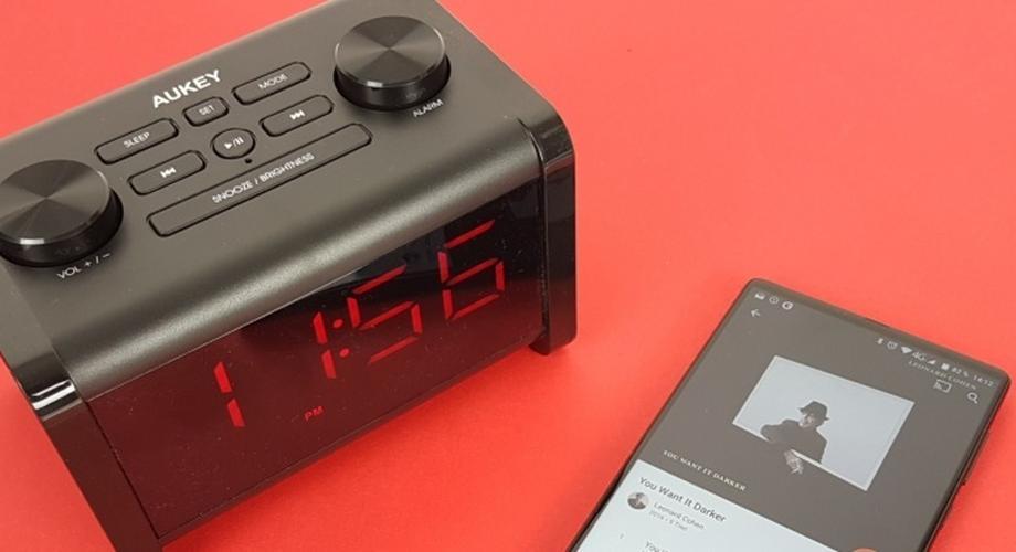 Gadget der Woche: Bluetooth-Radio-Wecker von Aukey