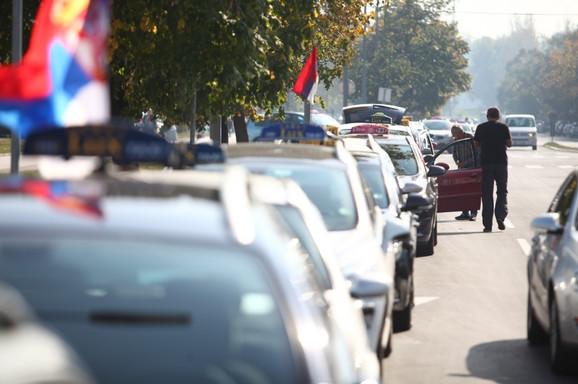 Taksisti na Novom Beogradu