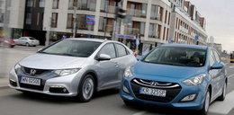Honda Civic kontra Hyundai i30: pojedynek nowości