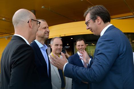 Ambasador Švedske Jan Lundin na otvaranju