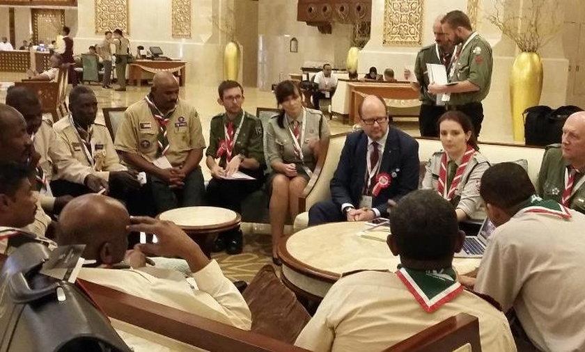 Wizyta prezydenta Gdańska w Omanie