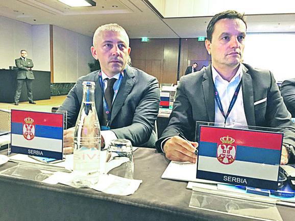 Slaviša Kokeza i Jovan Šurbatović