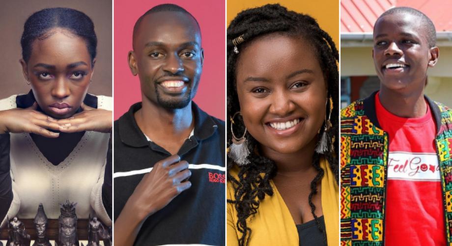 #ADIA20 Go Beyond Influencer of the Year Award nominees, Elsa Majimbo, Francis Amonde, Wawira Njiru and Crazy Kennar