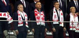Prezydent Andrzej Duda na meczu Polska-Albania. ZDJĘCIA