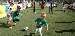 Legia świętowała z dziećmi