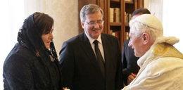 Papież pobłogosławił wnuka Pierwszej Pary