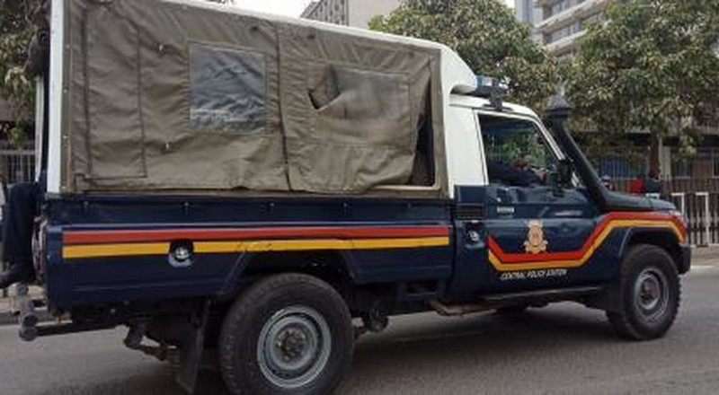 Officers busted ferrying drugs in gov't vehicle