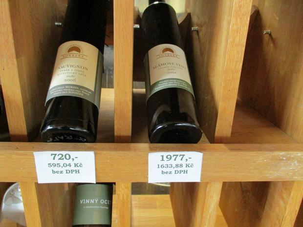 Wino za dwa tysiące koron to w Czechach wyjątkowa rzadkość