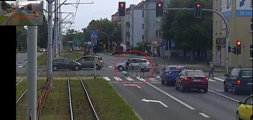 Wypadek w Toruniu