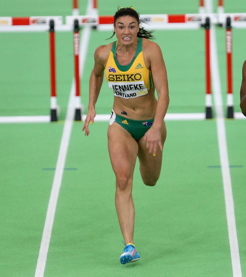 Zachwycające ciało młodej sprinterki