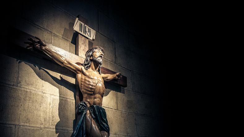 Pielgrzym nagrywał figurę Jezusa. Uchwycił, jak otworzyła oczy?