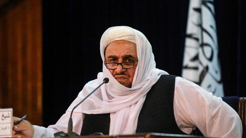 Minister szkolnictwa wyższego w rządzie talibów Abdul Baki Hakkani.